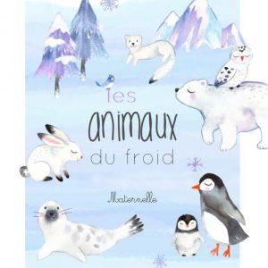Les animaux du froid Maternelle