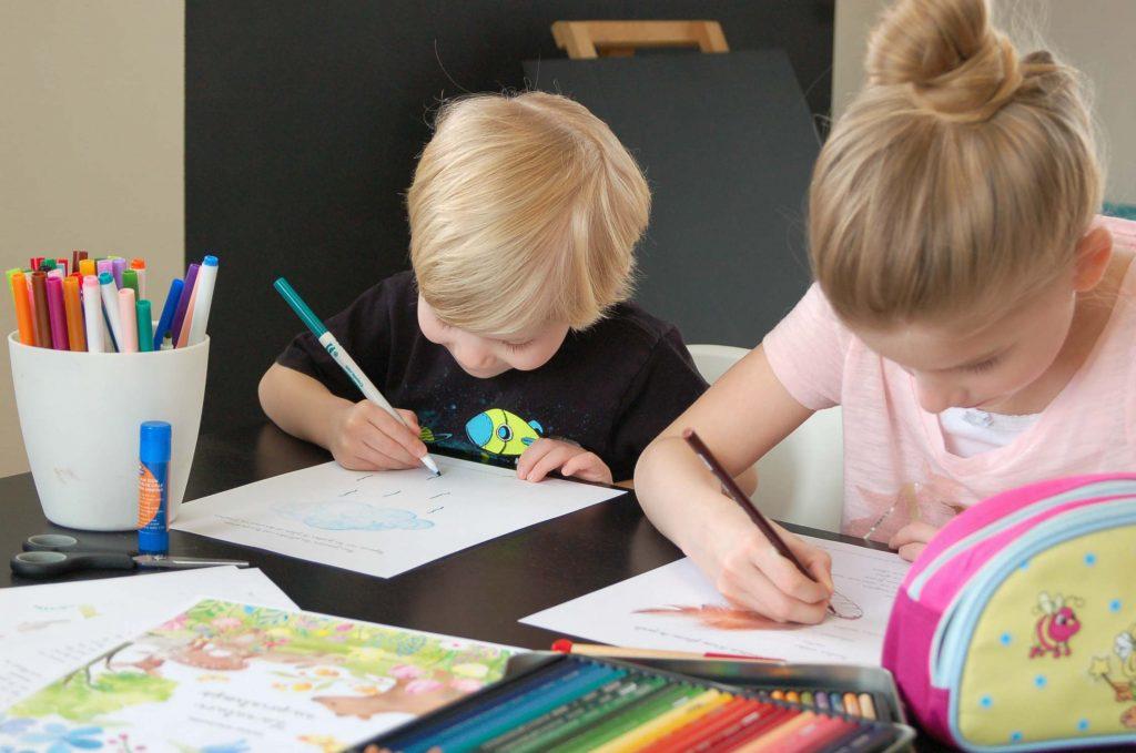 Apprendre à bien écrire en cursive - copyright crapaud-chameau.com