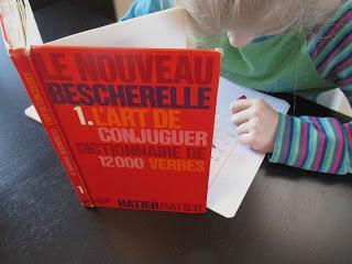 Français, conjugaison