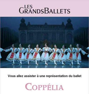 Coppélia, le ballet