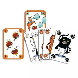 Jeux de cartes sur les chats