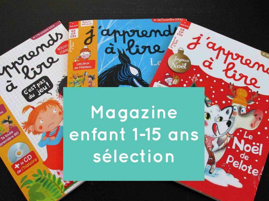 Magazine enfant 1-15 ans C
