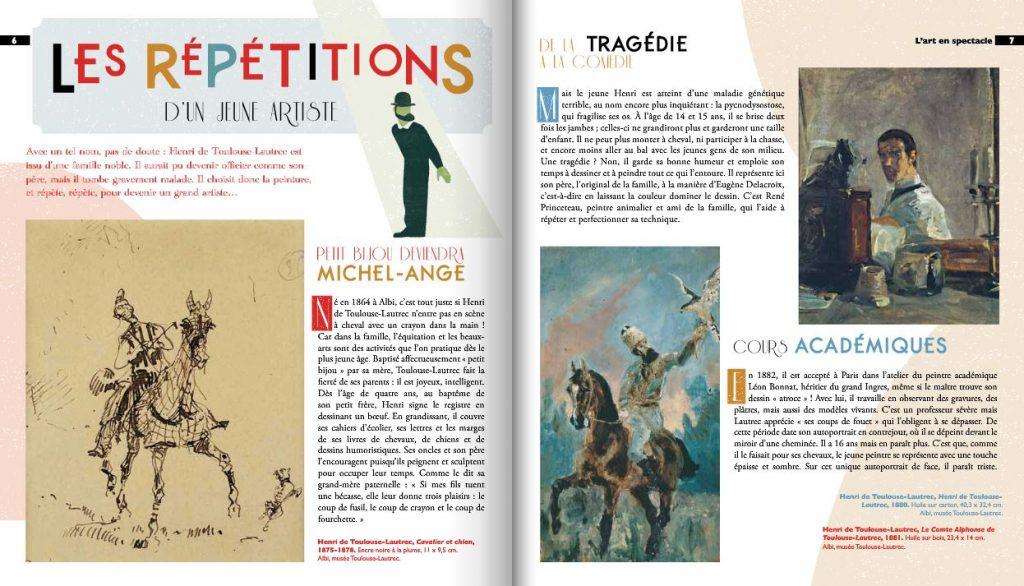 Toulouse-Lautrec Dada feuilleter