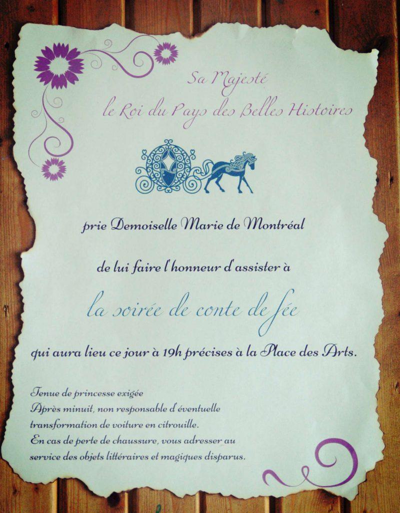 cendrillon-invitation