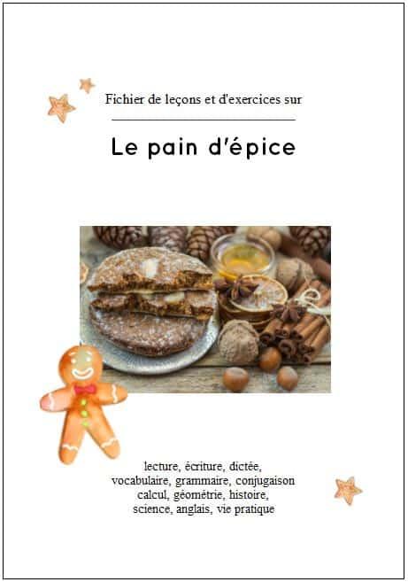 CE2-CM1, fichier leçons et exercices sur le pain d'épice