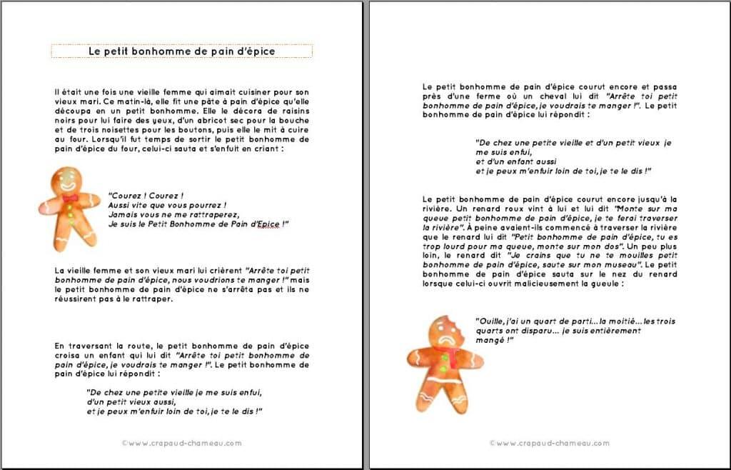 Etudions Pain D Epice Livres Histoire Recette Chansons Et Theatre