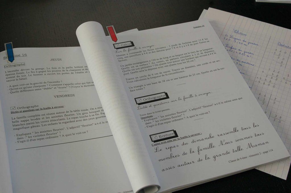 Cefop, cours par correspondance ce2 copyright crapaud-chameau.com