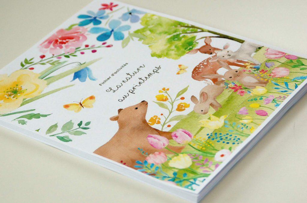 La nature au printemps, fichier 4-6 ans copyright crapaud-chameau.com