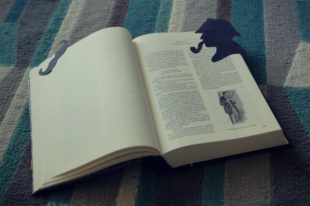 Sherlock Holmes marque-pages DIY