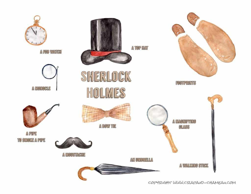 Sherlock Holmes vocabulaire anglais