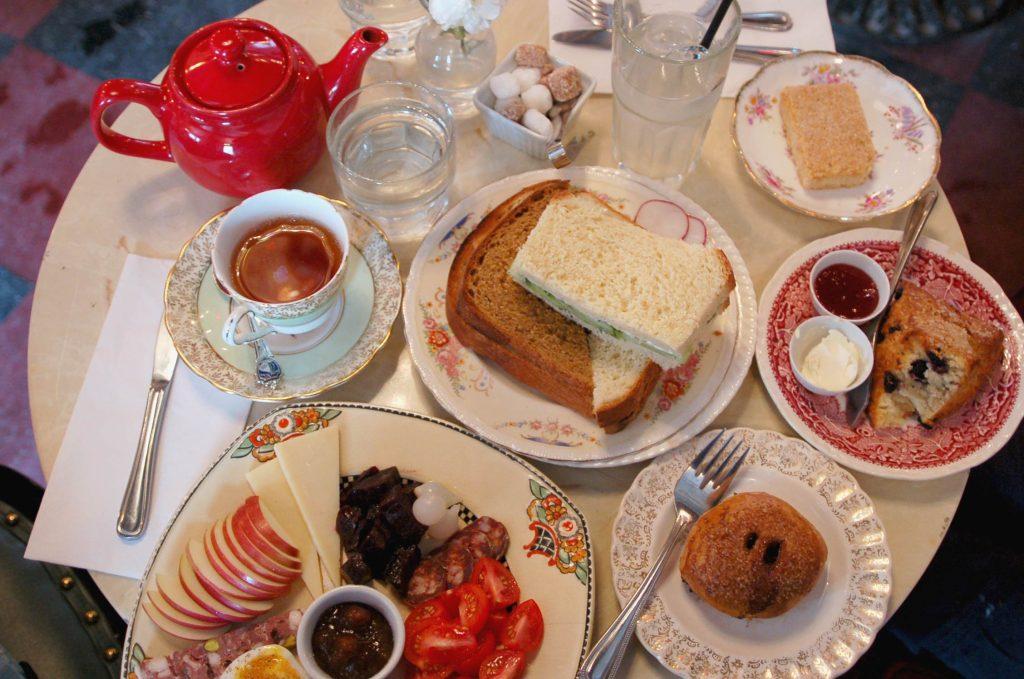 Salon de thé anglais Montréal