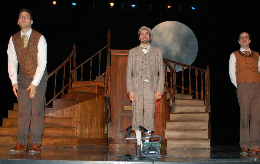 Sherlock Holmes et le Chien des Baskerville théâtre