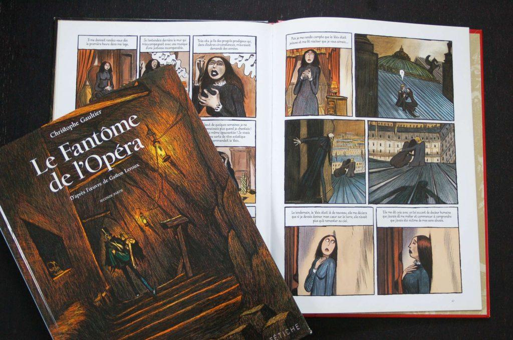 Le Fantôme de l'Opéra, BD