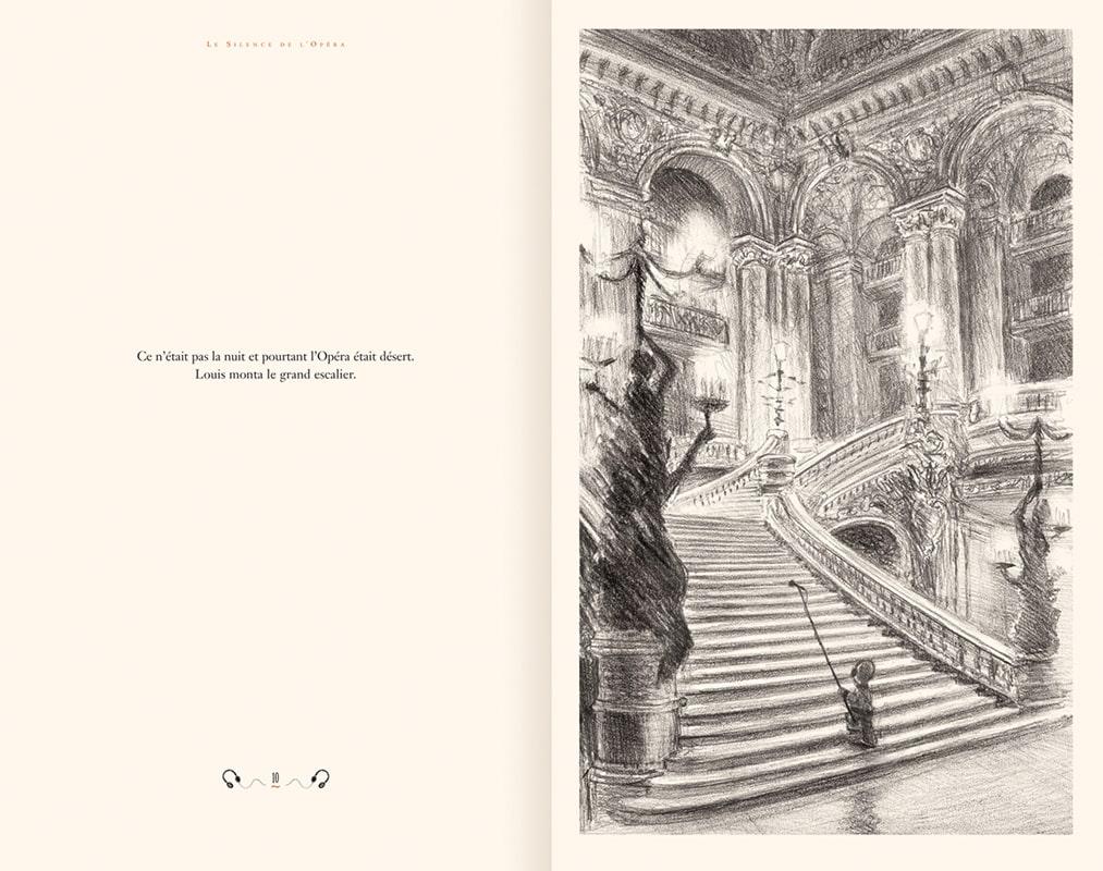 Le Silence de l'Opéra, conte