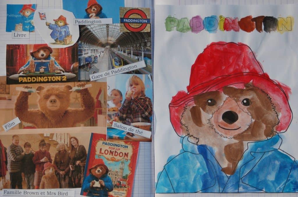 Ours Paddington - cahier des histoires à raconter