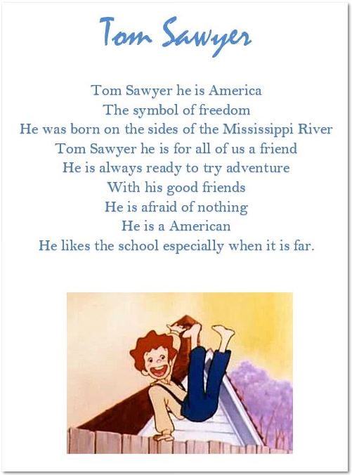 Tom Sawyer generique traduction anglais Chameau