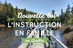 IEF au Québec nouvelle loi 2018