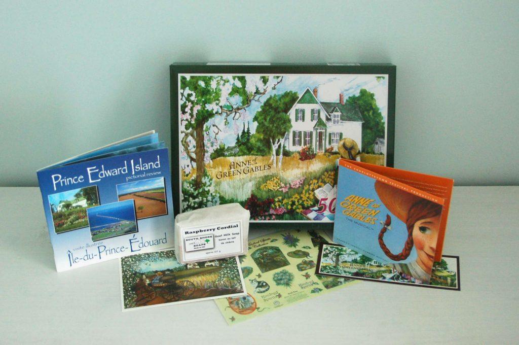 Anne... la maison aux pignons verts ensemble-cadeau