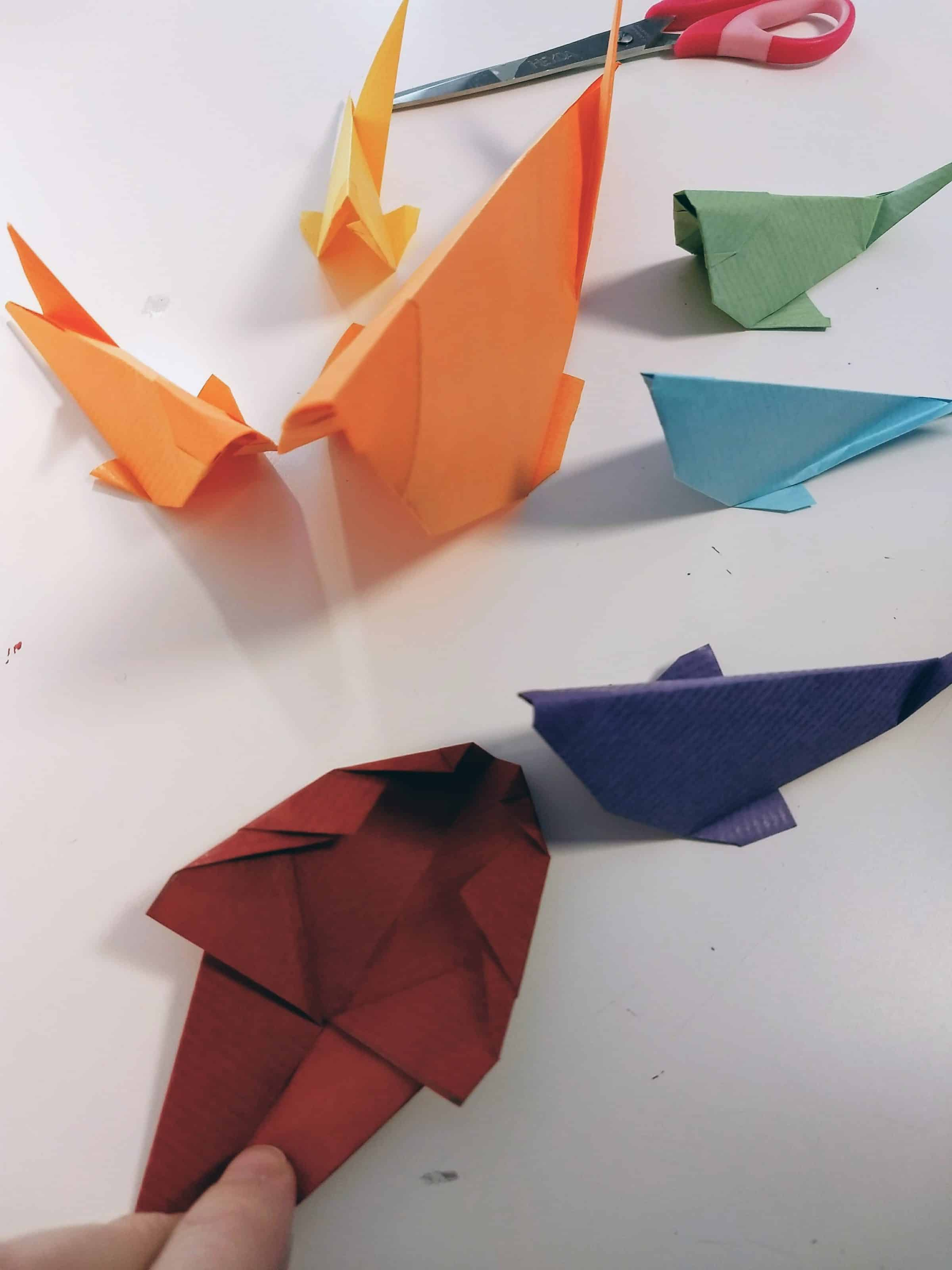 Origami kirigami copyright crapaud-chameau.com
