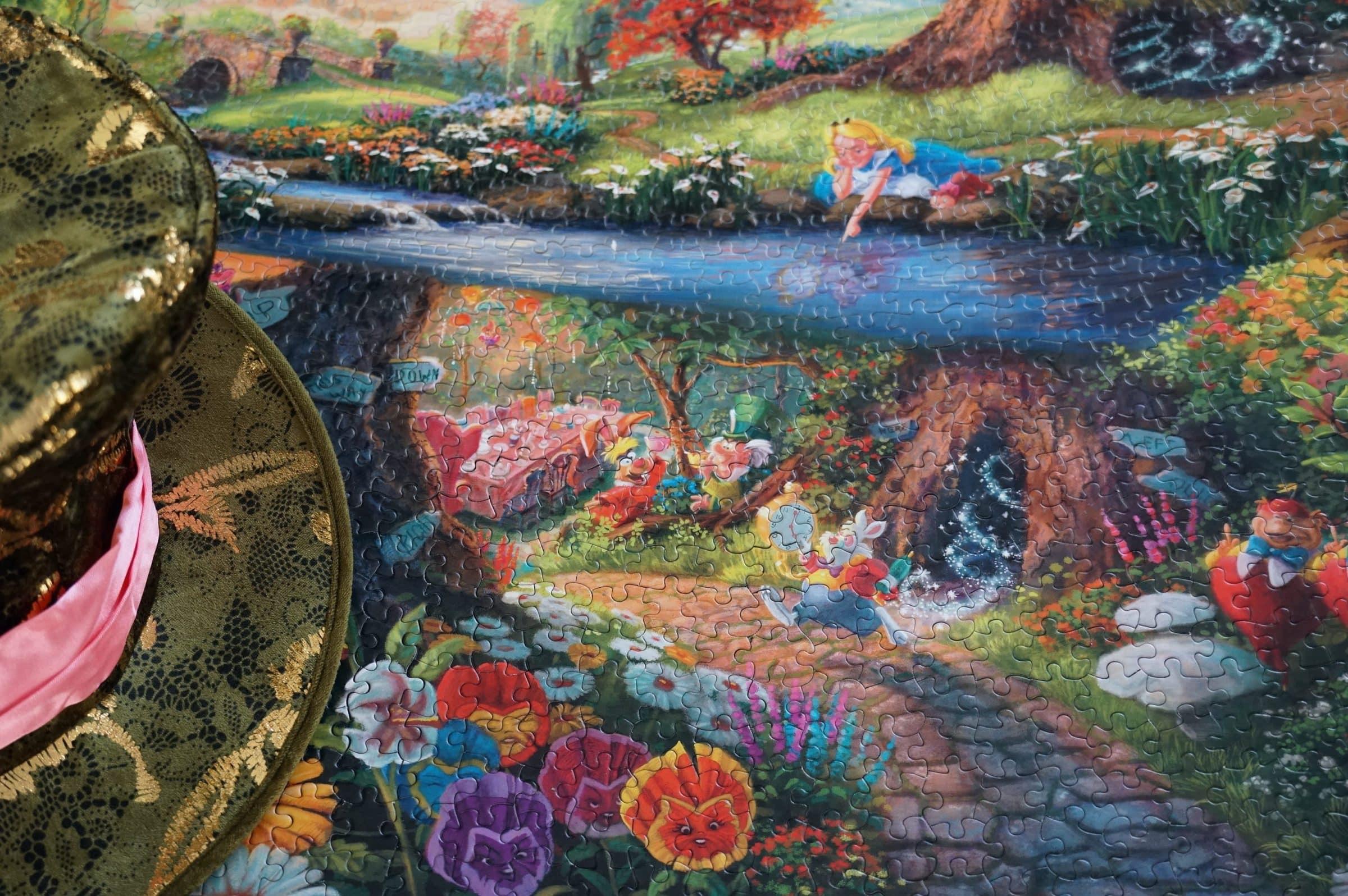 Puzzle Alice au pays des merveilles crapaud-chameau.com
