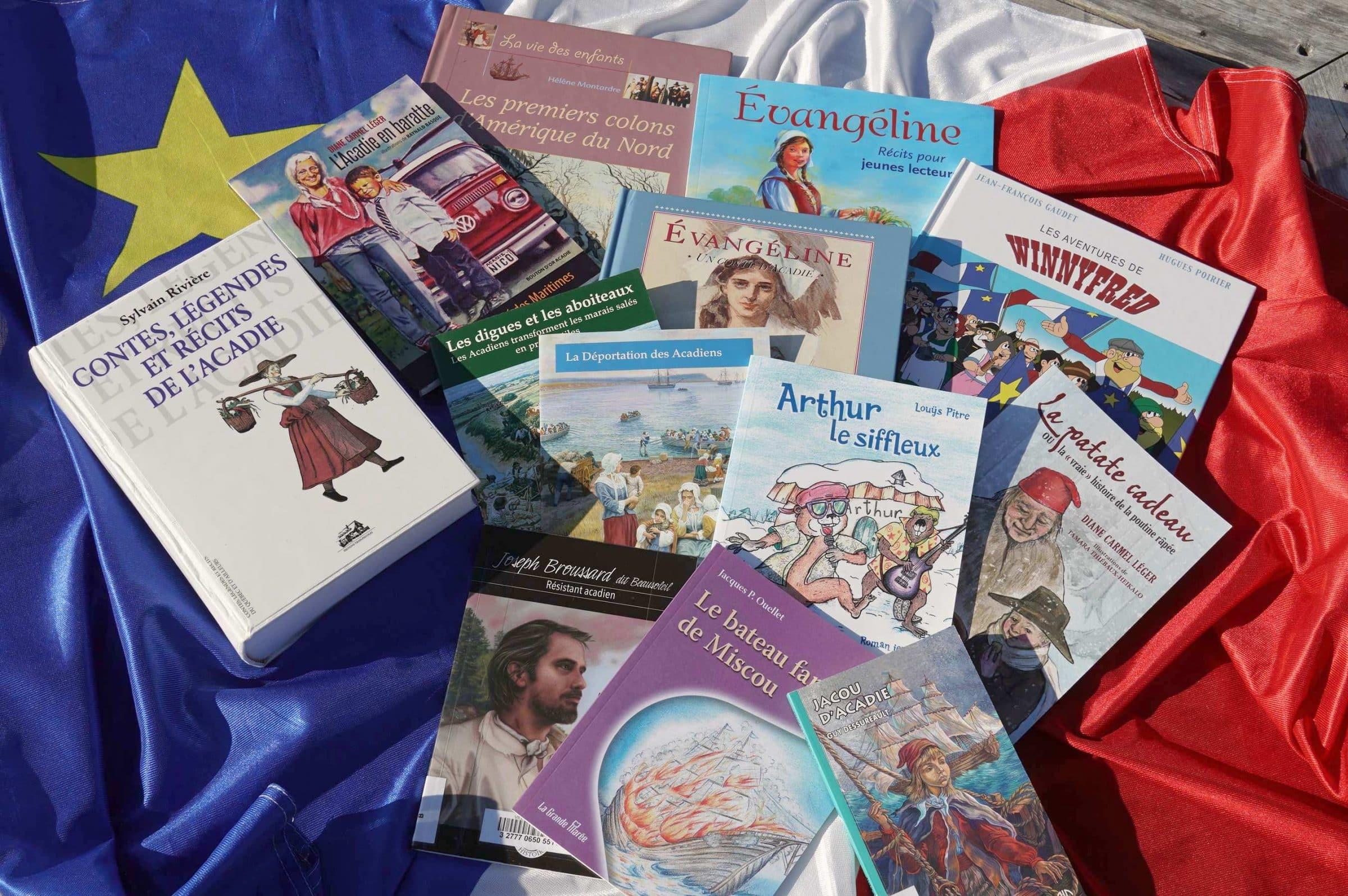L'Acadie livres jeunesse