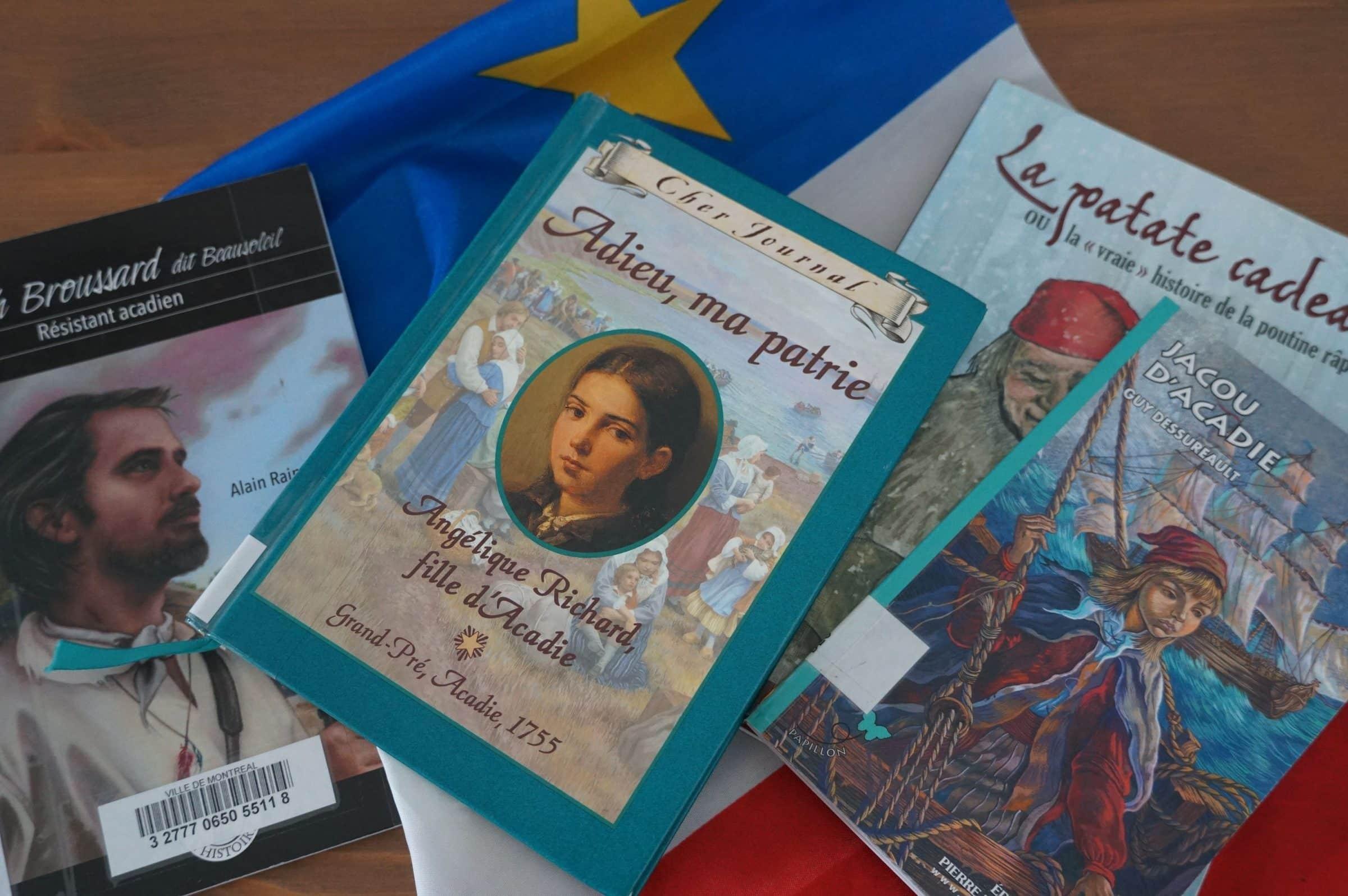 Acadie livres living books