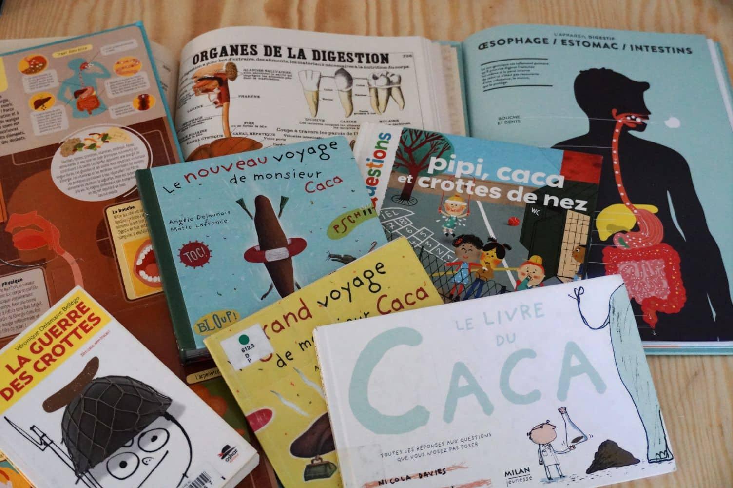 Livres sur le caca copyright crapaud-chameau.com