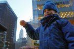 Crapaud Chameau empire state building New York James et la grosse peche copyright