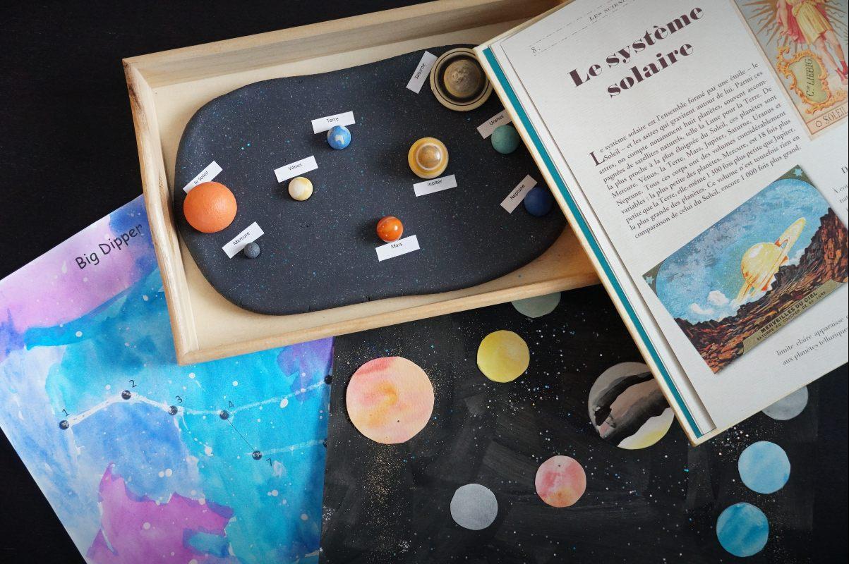 école à la maison ce1 sciences système solaire crapaud-chameau.com