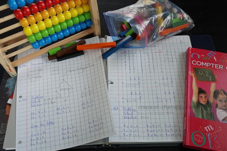 école à la maison ce1 mathématiques crapaud-chameau.com