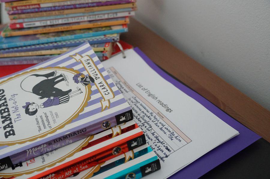 Apprendre l'Anglais école à la maison collège copyright crapaud-chameau.com