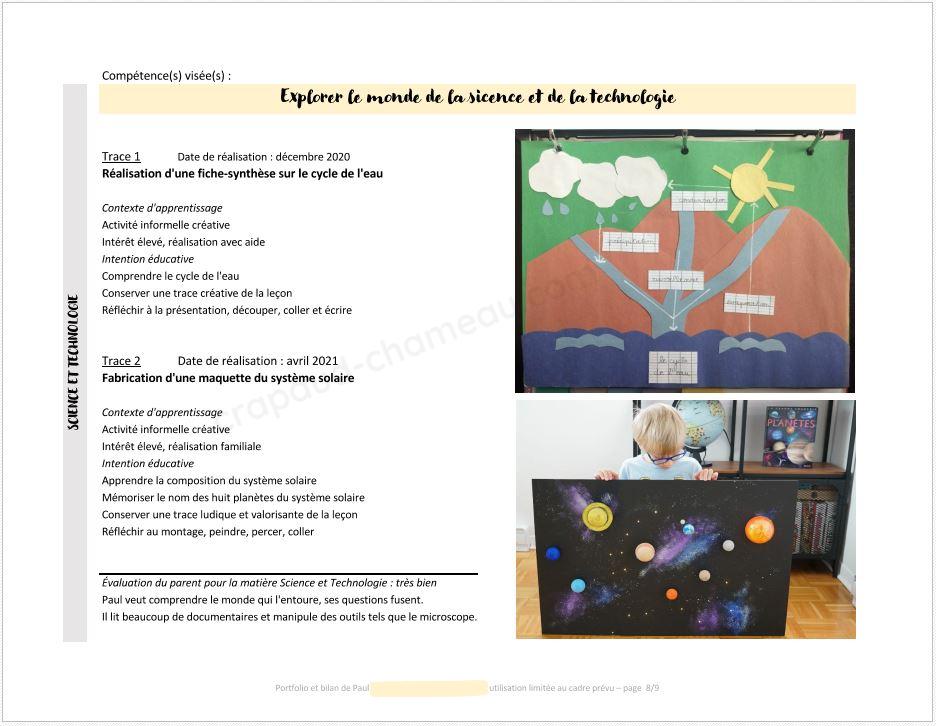 Bilan portfolio Paul copyright crapaud-chameau.com